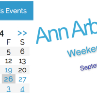 Ann Arbor With Kids Weekend Roundup 9/26-28