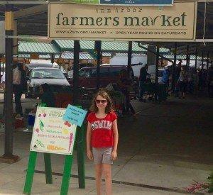 At the Ann Arbor Farmers Market