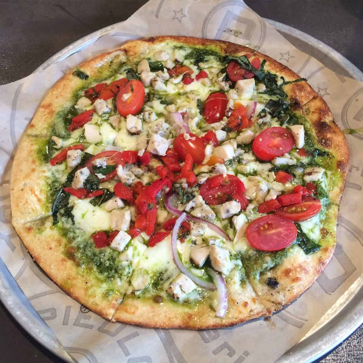 Pieology Pizza - My creation