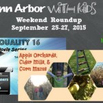 Weekend Roundup September 25-27, 2015