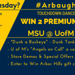 September Why Not Wednesday at Arbor Hills Celebrates Football with Touchdown Dance Contest #ArbaughHills