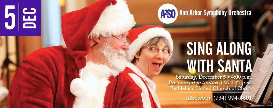 Ann Arbor Symphony Orchestra Sing Along Santa