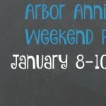 Arbor Annie's Weekend Picks for 2016 Weekend Kickoff - January 8-10, 2016