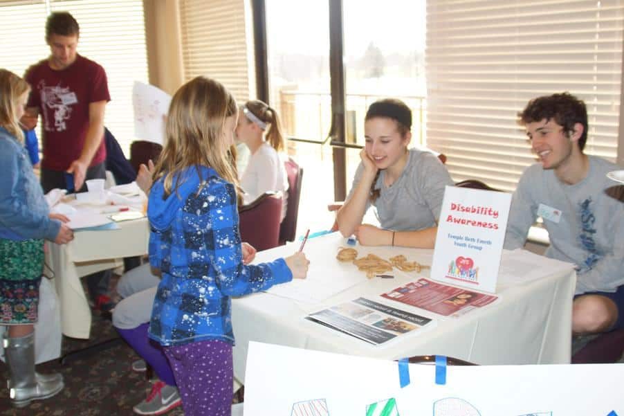 Jewish Family Services Kids Care Fair - Disability Awareness