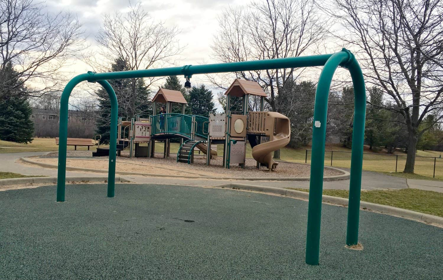 Mess Free Playgrounds - Southeast Area - Missing Tire Swing