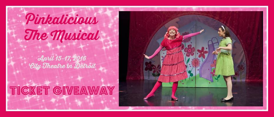 Pinkalicious the Musical Ticket Giveaway