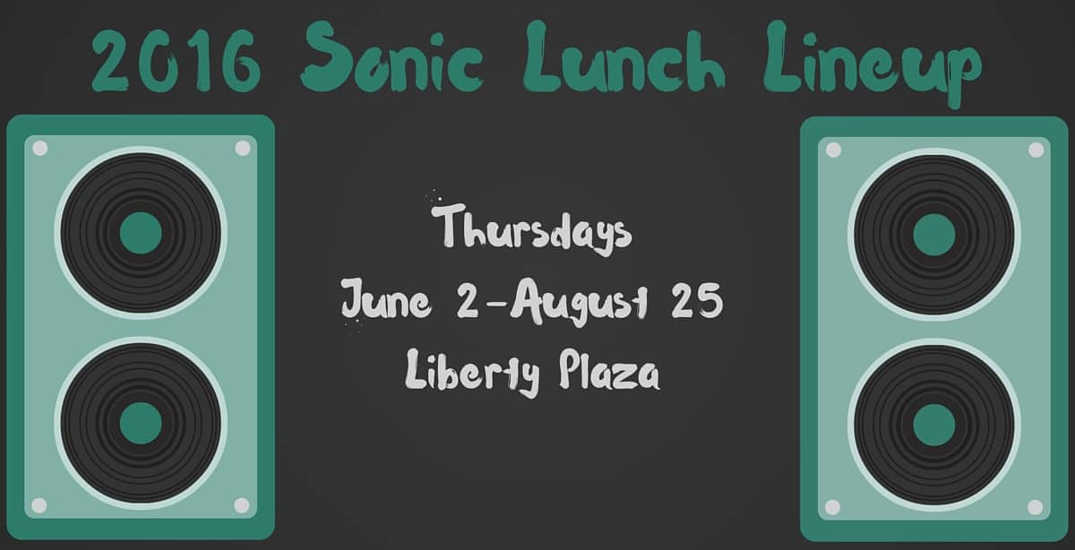 2016 Sonic Lunch Lineup