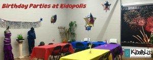 Kidopolis Birthday Parties