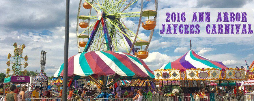 Ann Arbor Jaycees Carnival - Midway