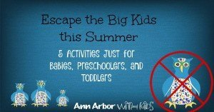 Escape the Big Kids This Summer