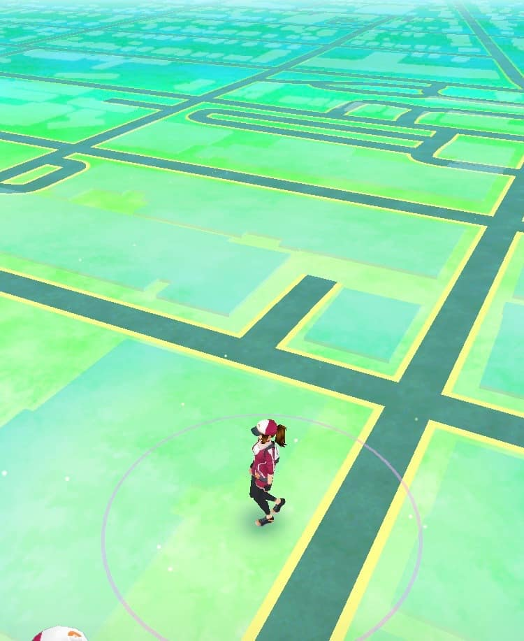 Ann Arbor Pokemon Go - Empty Map in Downtown Ann Arbor