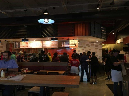 Blaze Pizza Ann Arbor -Interior