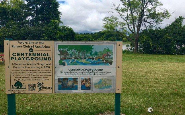 Gallup Park - Centennial Playground