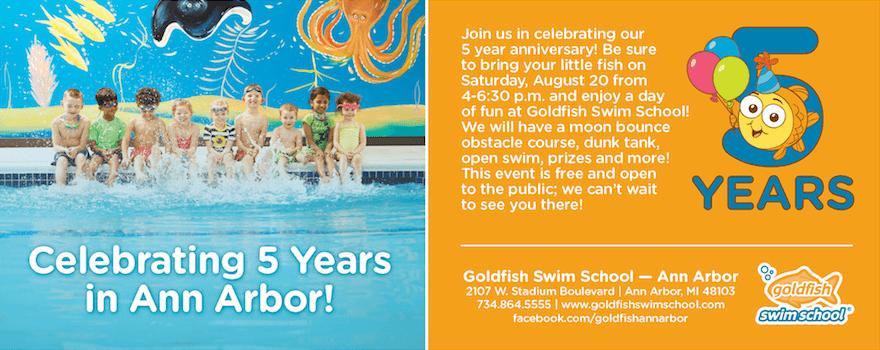 Goldfish Swim School - 5 Year Anniversary Party