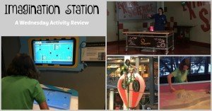 Imagination Station - Wednesday Activity Review