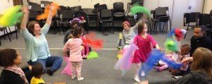EMU Community Music Academy - Early Childhood Music Classes - Dancing with Scarves