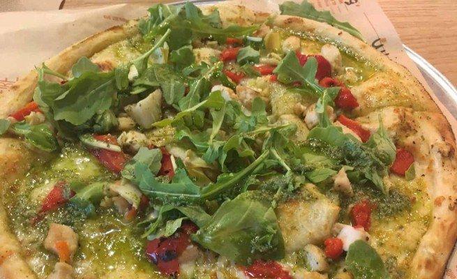 Blaze Pizza - Green Stripe Pizza