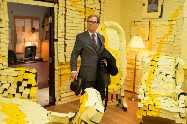 Middle School: The Worst Years of My Life - Post It Note Scene