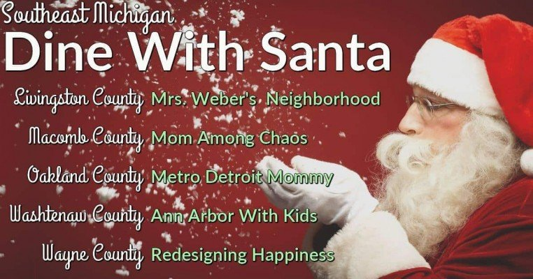 Washtenaw County Dine with Santa