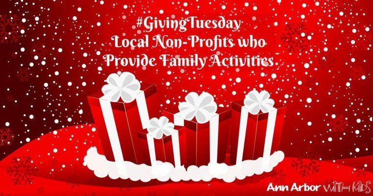 Giving Tuesday - Local Non-Profits who Provide Family Activities