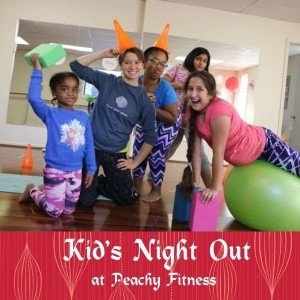 Kids Night Out at Peachy Fitness