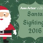 2016 Ann Arbor Santa Sightings