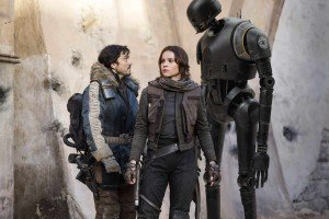Rouge One: A Star Wars Story - Cassian Andor, Jyn Erso, & K-2SO