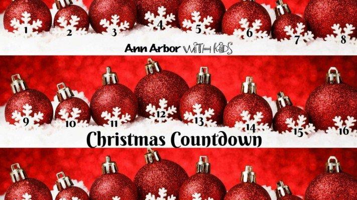 Ann Arbor Christmas Countdown