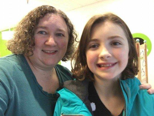 Zoey + Joey - Post Cut Selfie