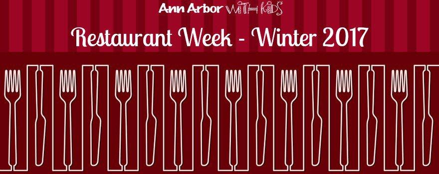 Ann Arbor Restaurant Week Winter 2017
