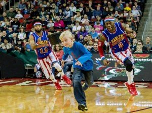 Harlem Globetrotters at EMU - Kid Chase