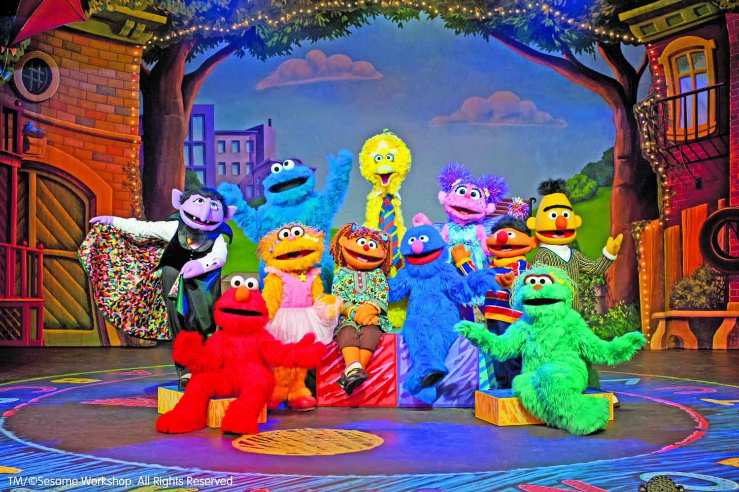 Sesame Street Live: Make a New Friend Giveaway | Ann Arbor ...