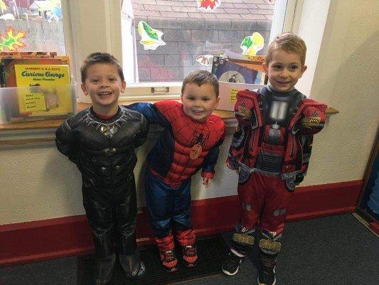 Stone School Cooperative Preschool - Halloween