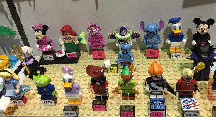 Brick Bash 2017- Disney Minifigures