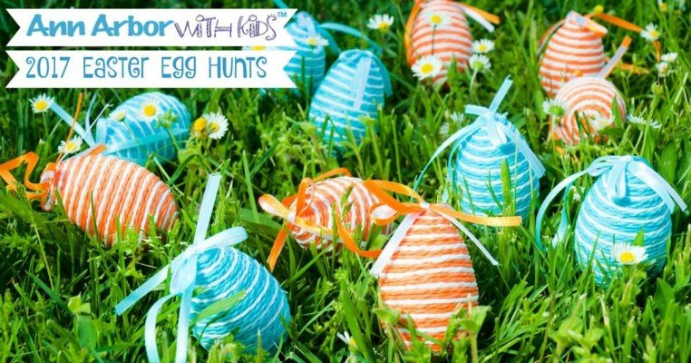 2017 Ann Arbor Easter Egg Hunts