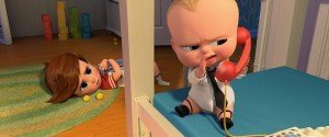 The Boss Baby - Baby talks on the phone