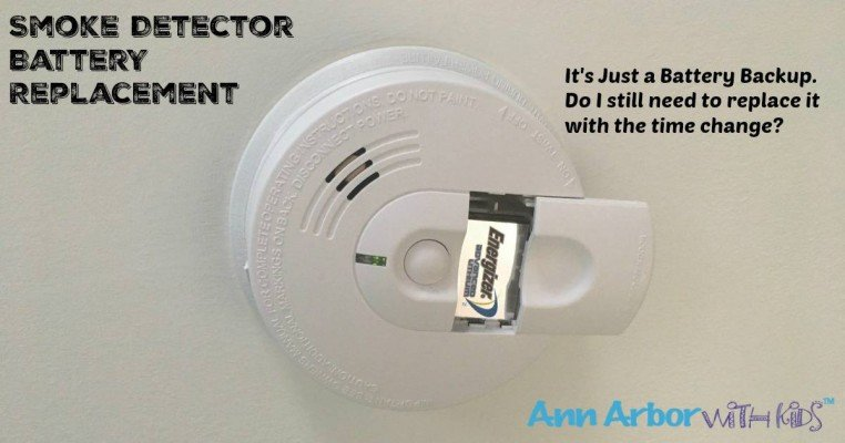 Smoke Detector Battery Replacement