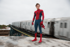 Spiderman: Homecoming - Spiderman on the Train