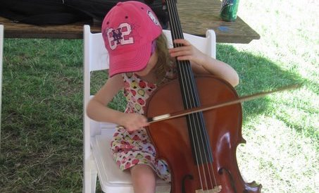 Ann Arbor Summer Festival - Top of the Park KidZone Ann Arbor Symphony Orchestra Instrument Petting Zoo (2009)