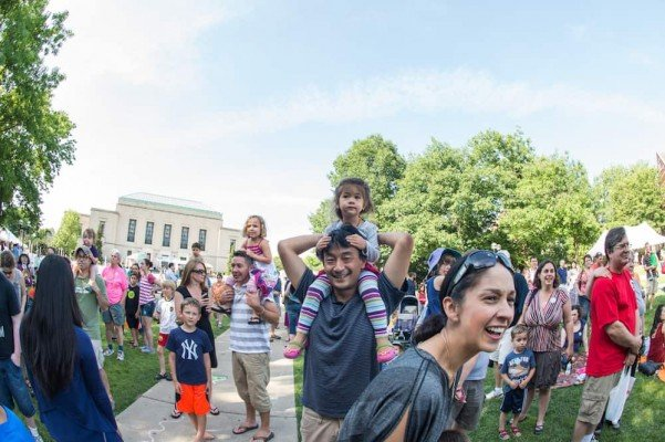 Ann Arbor Summer Festival - Top of the Park - Families at Top of the Park