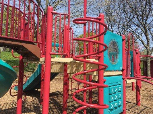 Hunt Park Playground Profile - Climbers
