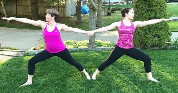 Peachy Fitness Mother's Day Yoga