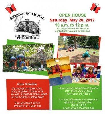 Stone School Cooperative Preschool - May 2017 Open House