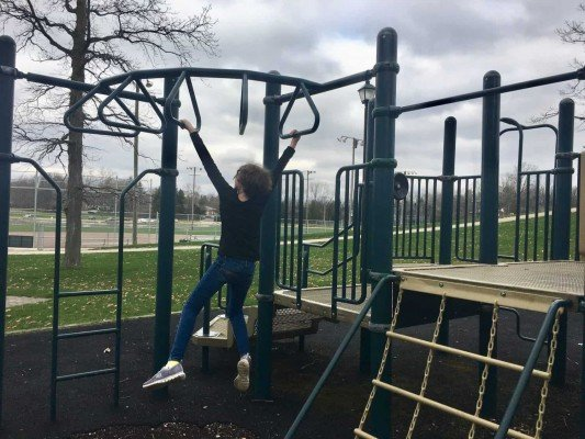 Veterans Memorial Park - Playground - Monkey Bars