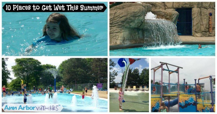 Ten Places to Get Wet this Summer - Ann Arbor Swimming Pools
