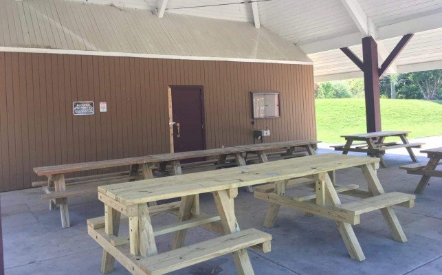 County Farm Park Playground Profile - Pavilion