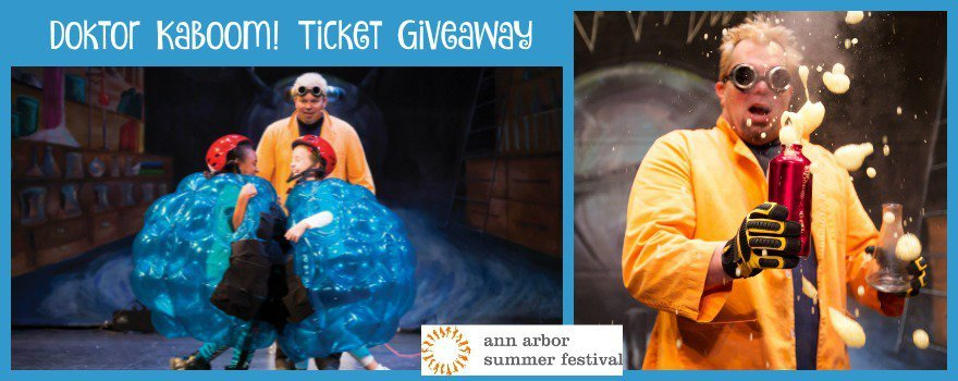 Doktor Kaboom! Ticket Giveaway