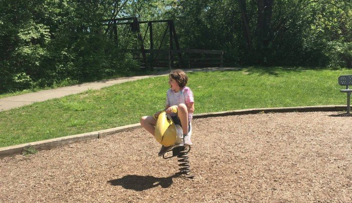 Island Park Playground Profile - Bouncer