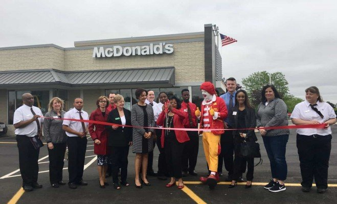 Lohr Rd McDonalds Grand Reopening - Ribbon Cutting