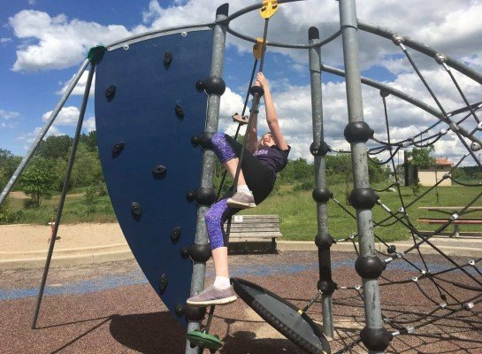 Olson Park Playground Profile - Rope Challenge